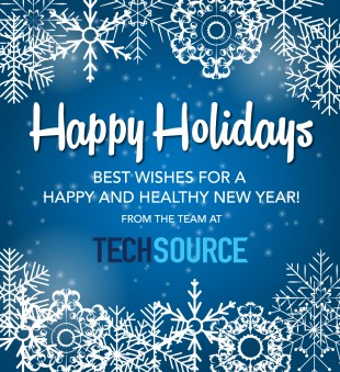 Happy Holidays from TechSource